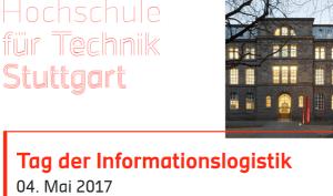 HFT Stuttgart: Tag der Informationslogistk 2017