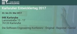 Karlsruher Entwicklertag 2017