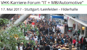 VHK Karriere-Forum 2017 - IT & MB/Automotive
