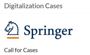 Springer-Buch: Digitalization Cases