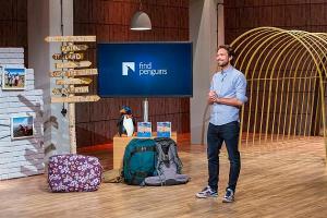 FindPenguins-Gründer Tobias Riedle in der Höhle der Löwen