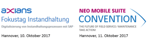 Instandhaltung mit SAP: Events in Hannover