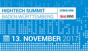 Hightech Summit 2017 im Europapark