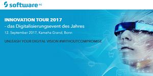 Software AG Innovation Tour 2017 am 12.9. in Bonn