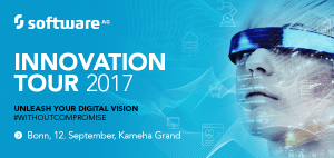 Software AG Innovation Tour 2017 am 12.9. in Bonn