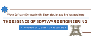 The Essence of Software Engineering am 16.11. in Essen