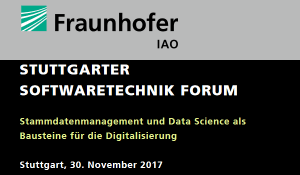 Stammdatenmanagement und Data Science am SSF 2017