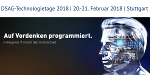 DSAG Technologietage 2018 in Stuttgart
