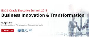 IDC & Oracle Executive Summit 2018