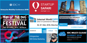 Mobility, Startups, Digitalisierung, eCommerce and more: Top Events in den kommenden Wochen