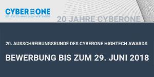 CyberOne 2018 - Businessplanwettbewerb