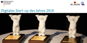 BMWi: Digitales StartUp des Jahres 2018 gesucht