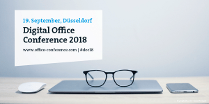 Digital Office Conference 2018 in Düsseldorf
