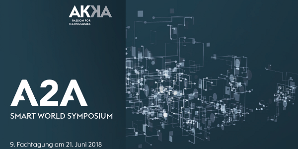A2A - Smart World Symposium 2018 am 21.6. in Neu-Ulm