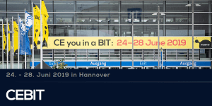 CEBIT 2019 vom 24.-28. Juni 2019 in Hannover