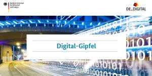 Digital-Gipfel 2018 in Nürnberg