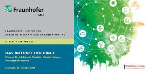 """4. Esslinger Forum """"Das Internet der Dinge"""""""