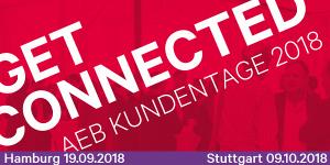 AEB Get Connected 2018 in Stuttgart und Hamburg