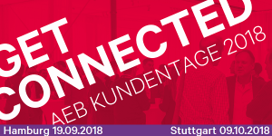 AEB Get Connected 2018 in Stuttgart und Hamburg
