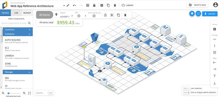 Cloudcraft - Cloud-Architekturen ansprechend visualisieren