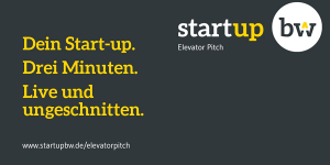 Elevator Pitch BW 2018 / 2019 - 6. Runde