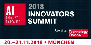 TR Innovators Summit AI 2018