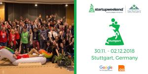 Startup Weekend Stuttgart 2018