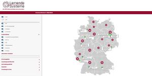KI-Landkarte der Plattform Lernende Systeme (Screenshot)