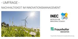 Online-Umfrage Nachhaltigkeit im Innovationsmanagement