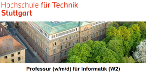 HFT Stuttgart: Professor Informatik