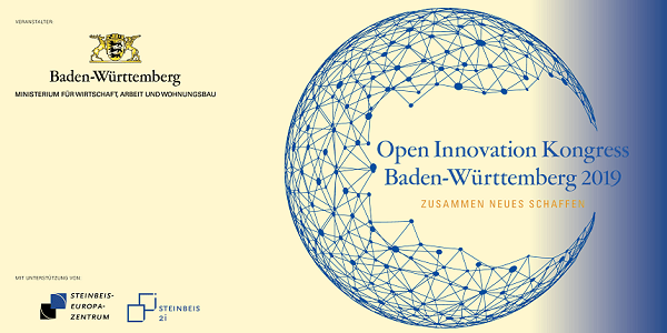 Open Innovation Kongress Baden-Württemberg 2019 am 11.3. in Stuttgart #OIKBW2019