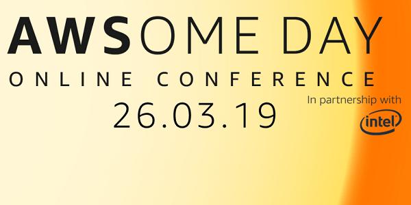 AWSome Day 2019 - Kostenlose Online-Konferenz zum Thema AWS am 26.3.