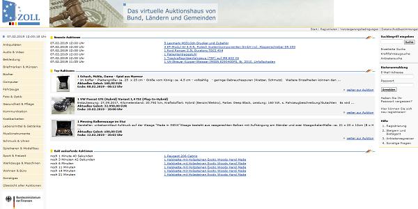 Zoll-Auktion.de - Auktionshaus der öffentlichen Verwaltung knackt die Milliarden-Marke