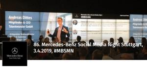 86. Mercedes-Benz Social Media Night #MBSMN