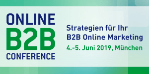 Online B2B Conference 2019 in München