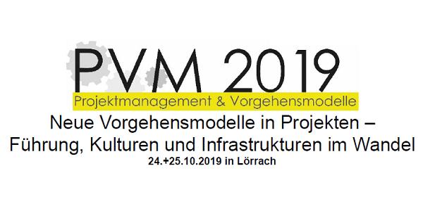 PVM 2019: CfP für GI-Tagung Projektmanagement und Vorgehensmodelle #PVM2019