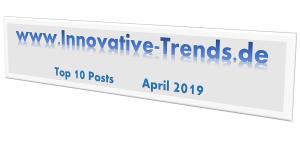 Top 10 Beiträge im April 2019