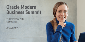 oracle Modern Business Summit 2019 in Darmstadt