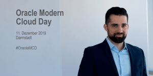 Oracle Modern Cloud Day 2019 in Darmstadt