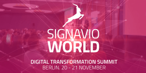Signavio World 2019 in Berlin