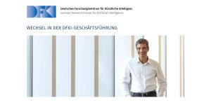 Neuer DFKI-CEO: Prof. Dr. Antonio Krüger