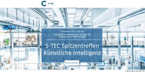 S-TEC Spitzentreffen 2019 Künstliche Intelligenz