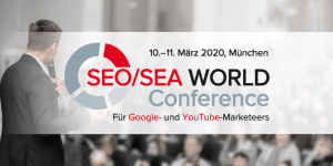 SEO/SEA WORLD Conference 2020 in München
