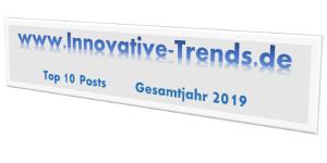 Top 10 Posts im Gesamtjahr 2019