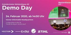 Gründermotor Meisterklasse #2 Demo Day 2020