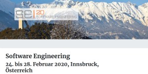 Software Engineering 2020 (SE 2020) in Innsbruck