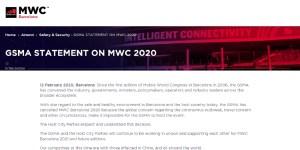 MWC 2020 abgesagt