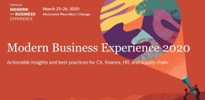 Oracle Modern Business Experience in Chicago
