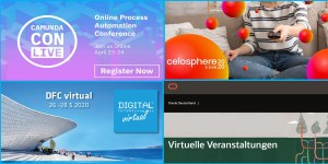 Online-Events im April und Mai