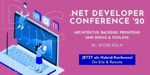 .NET Developer Conference 2020 (DDC 2020) in Köln
